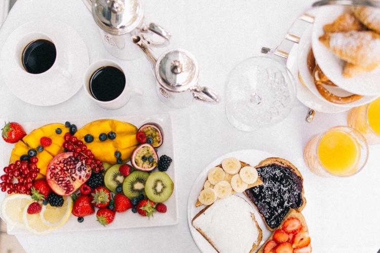Ricca colazione a buffet al Glam Boutique Hotel